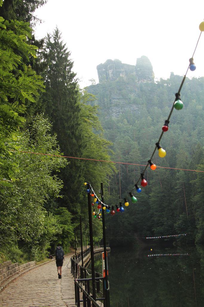 idyllischer See am Malerweg