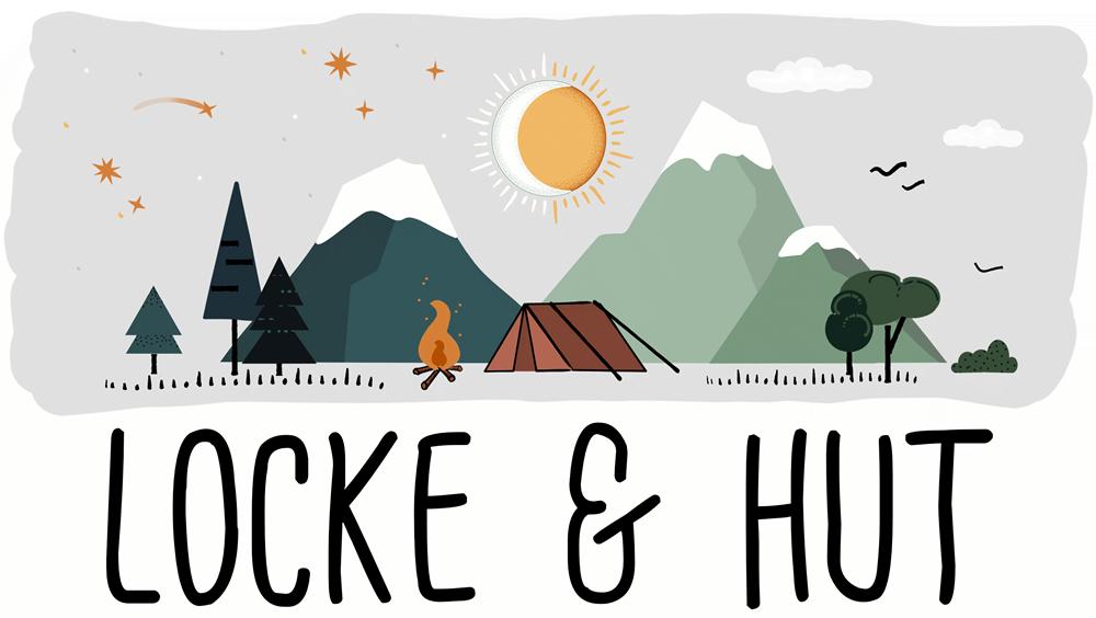 Locke und Hut