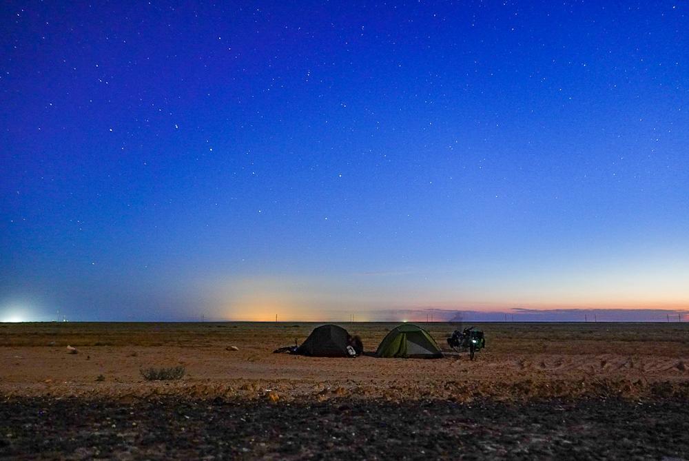 Sternenhimmel Kirgistan Versicherungen für eine Weltreise