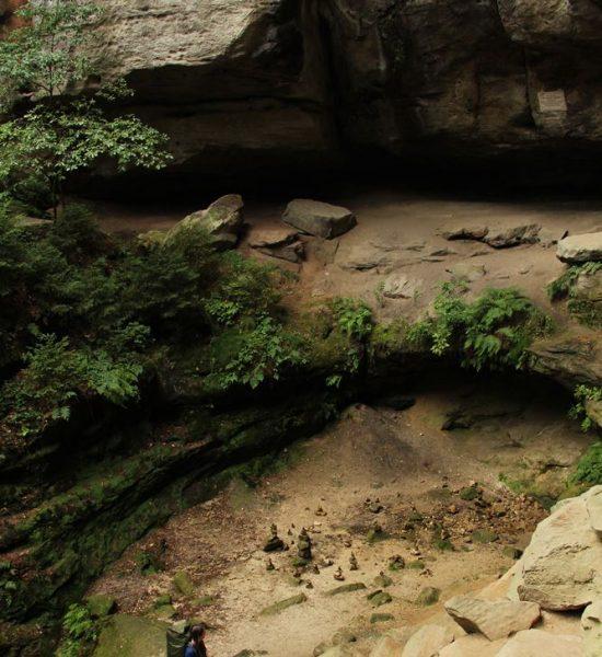 Felsen am Malerweg Etappe 2